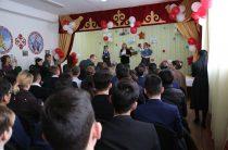 Таразские школьники почтили память воинов-афганцев