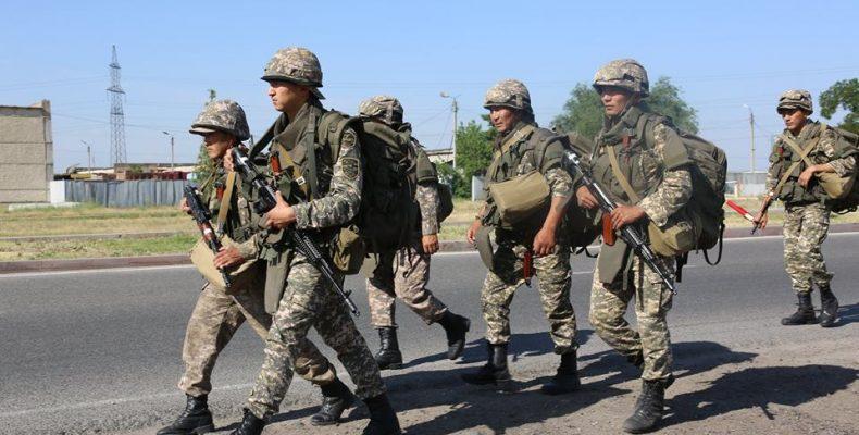 «Аңырақай-2018»: военные Казахстана и Кыргызстана тренировались на полигоне Матыбулак