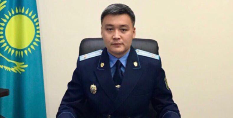 В Таразе назначен новый прокурор города