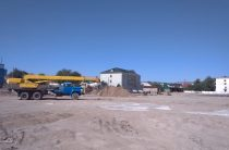 Началась реконструкция стадиона «Жастар»