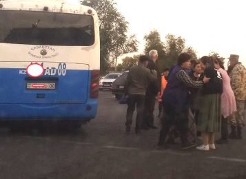Два автобуса попали в ДТП в Таразе, есть пострадавшие