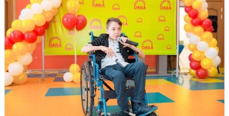 Юный астрофизик из Тараза рассказал о своих инициативах для помощи инвалидам