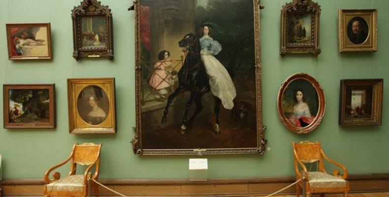 Шедевры Третьяковской галереи – в Национальном музее Астаны