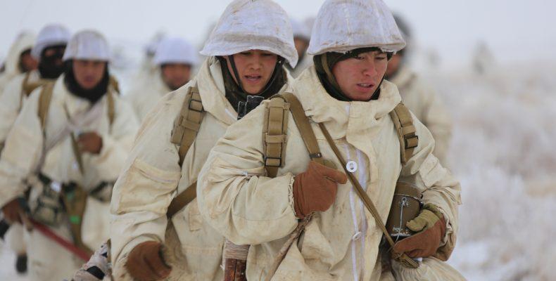 Наши победили! — На полигоне Матыбулак прошли боевые учения