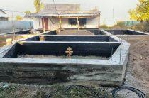 Идет строительство храма в селе Кулан Жамбылской области