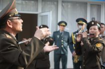 С 20-летним юбилеем поздравили оркестр РгК «Юг» Национальной гвардии РК