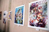 Выставка творческой группы местных художников проходит в Таразе