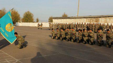 Жамбылских защитников Отечества проводили домой