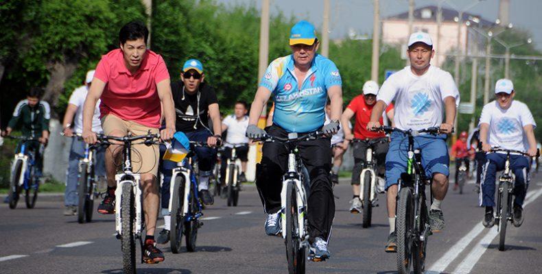 Составлена сборная из самых спортивных чиновников Жамбылской области
