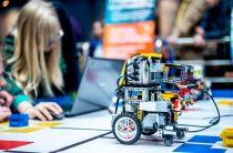 Первый городской конкурс по робототехнике прошел в Таразе