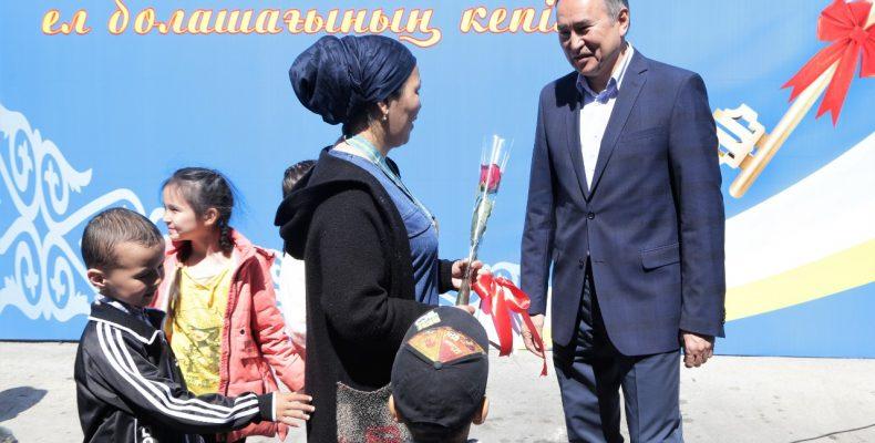 Ко Дню защитника Отечества в Таразе ввели в эксплуатацию стоквартирный дом