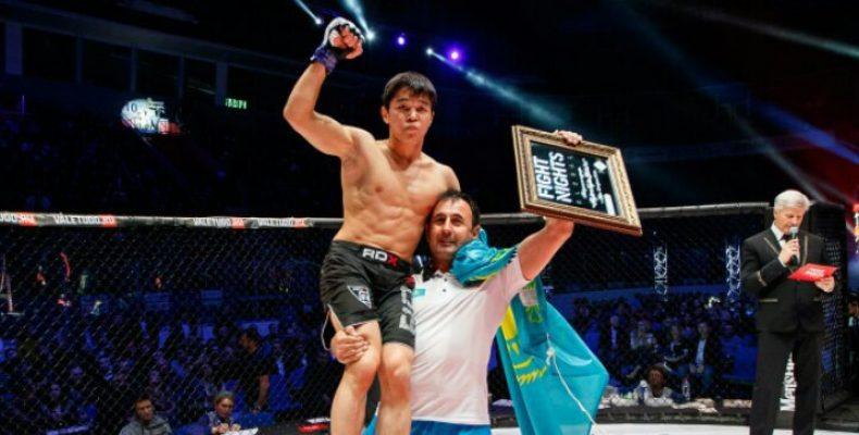 Асу Алмабаев: Первый жамбылский спортсмен в боях без правил
