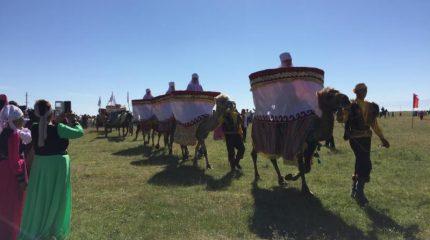 «Рухани жаңғыру»: меркенцы возрождают древний праздник кумыса