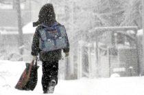 В таразских школах также отменили занятия из-за морозов