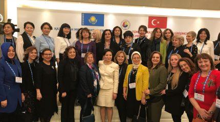 Деловые женщины Тараза участвуют в форуме в Турции