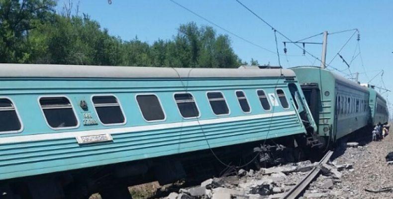 Стали известны имена пострадавших при крушении поезда в Жамбылской области