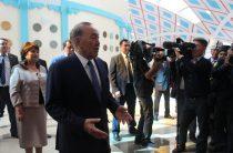 Рабочий визит Нурсултана Назарбаева в Жамбылскую область