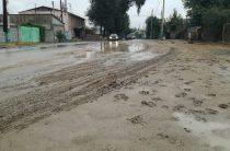 Нет, это не Рио-де-Жанейро! Тараз утопает в нескончаемой грязи (фоторепортаж)