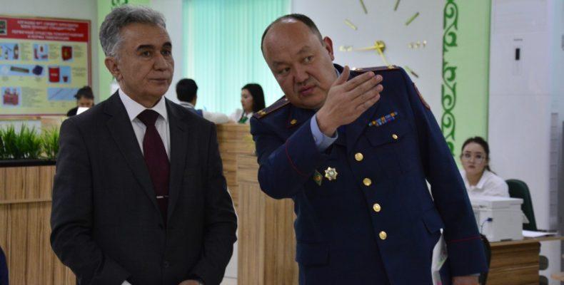 Генеральный консул Узбекистана в Казахстане посетил ЦМУ Жамбылской области