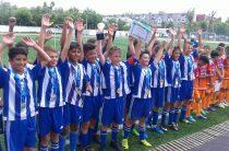 Фоторепортаж: в Таразе прошел детский чемпионат по футболу.