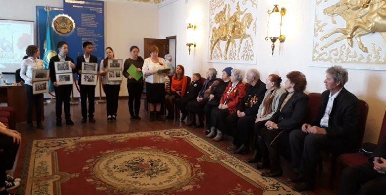 Встречу бывших узников фашистских лагерей и молодежи провели в Караганде