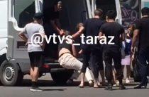 Жамбылские полицейские прокомментировали видео с похищением парня в Таразе