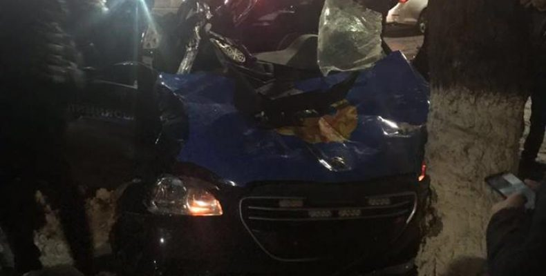 ДТП в Таразе: трактору не повезло….