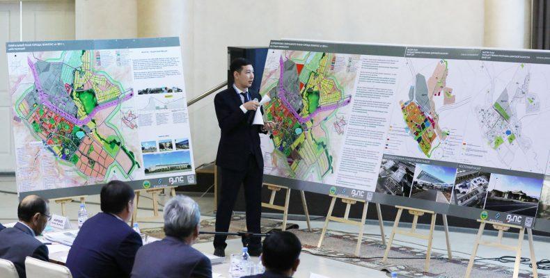 Проект новых современных микрорайонов презентовали в Таразе