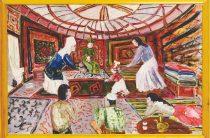 «Яблоко любви»: юбилейная выставка казахстанского итальянца Кармине Барбаро в Алматы