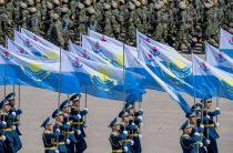 Боевой парад Вооруженных сил РК прошел в Жамбылской области