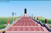 13-метровая фигура Аулие-ата — Карахана украсит окрестности Тараза