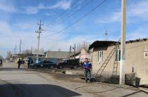 В Кордайском районе восстанавливают инфраструктуру