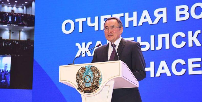 Годовой отчет: два с половиной часа отвечал на вопросы жителей области Аскар Мырзахметов