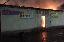 В Жамбылской области сгорела автозаправка