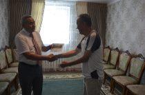 Путевку в санаторий подарили жамбылскому ветерану
