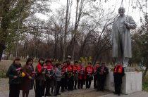 Жамбылские коммунисты отметили юбилей революции