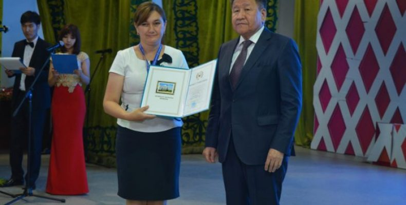 Лучших сотрудников правоохранительных органов наградили в Таразе
