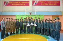 В память о подвиге Газиза Байтасова в Таразе провели спартакиаду
