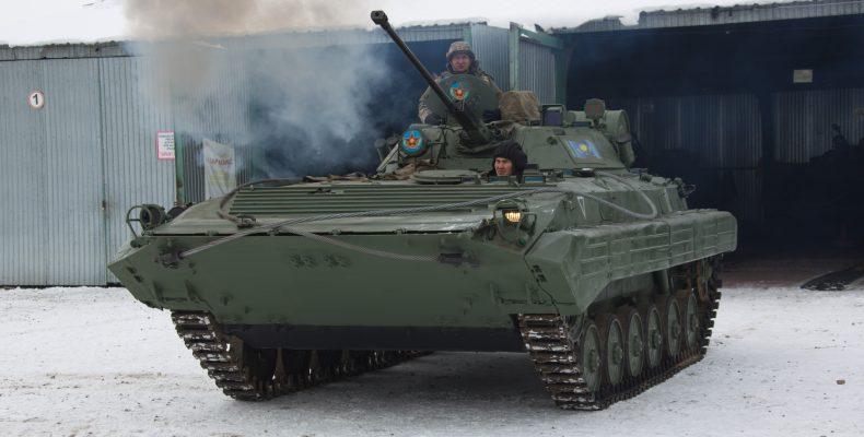 Жамбылцы не заметили военных учений