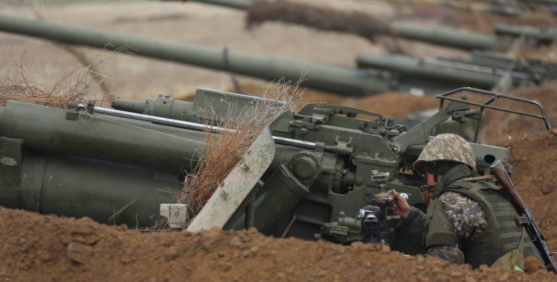 Южная и западная группировки войск РК на жамбылском полигоне выясняли, кто сильнейший