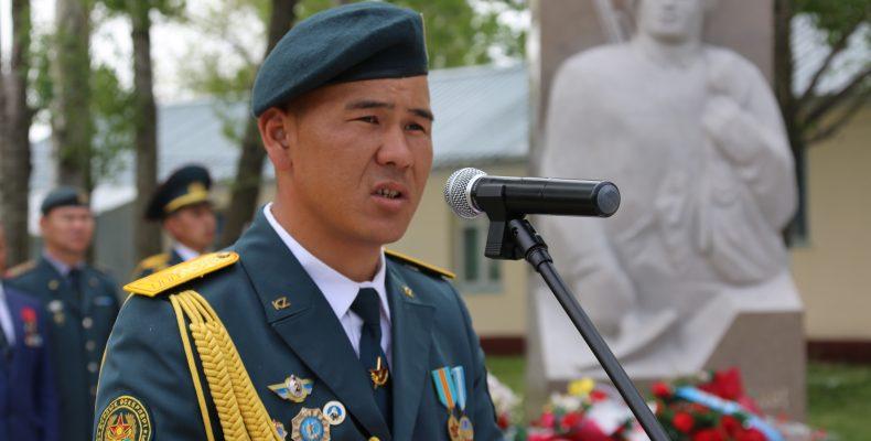 В горно-егерском командовании «Юг» открыли памятник погибшим военнослужащим
