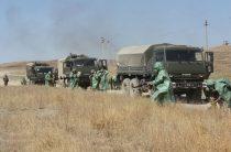 Основной этап совместных военных учений Казахстана и Кыргызстана завершился