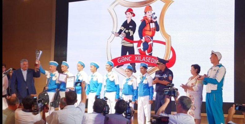 Юные «Укротители огня» с честью защитили честь страны