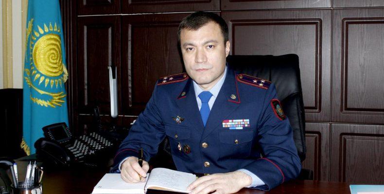 Начальник департамента полиции Жамбылской областипроводит прием граждан