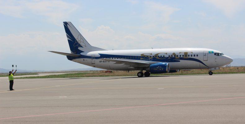 Международный аэропорт Тараза «Аулие-Ата» возобновил рейсы по маршруту «Москва – Тараз — Москва»