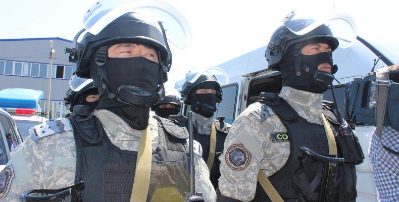 В Таразе отметили 26-летие казахстанской полиции