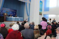 Проблемы массива «за линией» обсудили на отчете акима города Тараза