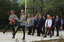 Жамбылские полицейские отмечают день Защитника Отечества