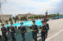 Как отмечают День государственных символов в Жамбылской области