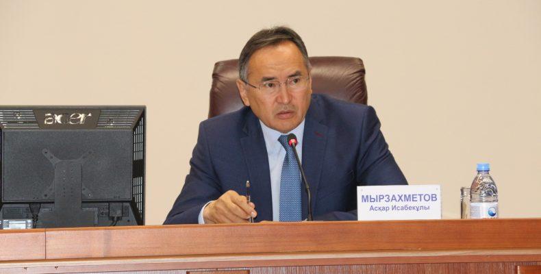 БАЙЛАНЫС БАР: Жамбыл облысының әкімі бизнес мәселесін тыңдады
